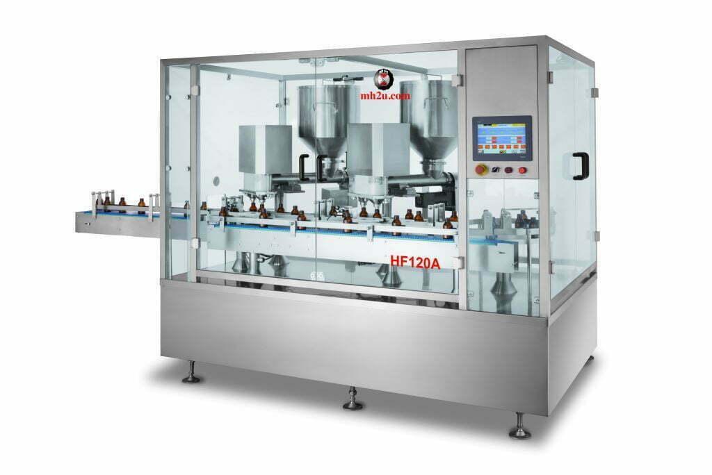 Auger Powder Filling and Capping Machine