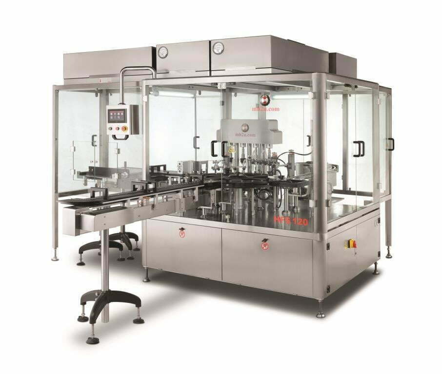 Sterile Vial Filling and Stoppering Machine